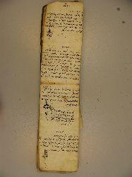 Ashiq Shiirleri Elyazma 159s
