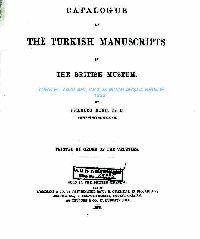 The Turkish Manuscripts