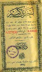 Axteri Kebir Sözluğu-Ereb-Türkce-Ebced-1324-hicri