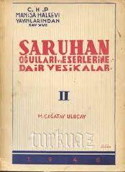Sarxanoğulları Ve Eserlerine Dair Vasikalar–2-M.Çağatay Uluçay-1946-146s