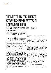 Türkiyede En Eski Türkce Kitabe Eskişehir Seyidqazi Ilçesinde Bulundu-Mehmed Tütünçu-8s