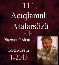 Açıqlamalı Atalarsözu - Bayram Özdemir