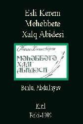 esli ile Kerem-Mehebbete Xalq Abidesi - Baki - Kiril - 1989 - 72S