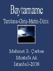 Baytarname Kitabı-Tercüme-Giriş-Metin-Dizin