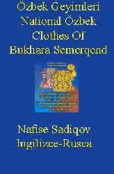 Özbek Geyimleri-National Özbek Clothes Of Bukhara Semerqend