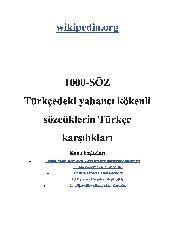 1000.Söz-Türkcedeki Yabancı Kökenli Sözcüqlerin Türkce Qarşılıqları-2013-42s