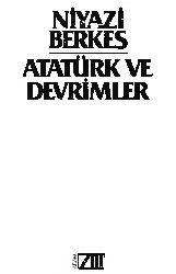 Atatürk Ve Devrimler Niyazi Berkes 1986 244