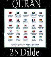Quran-25 Dilde