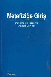 Metafiziğe Giriş-Ahmed Cevizçi-2001-346s