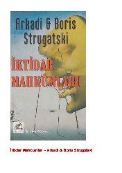 Iqtidar Mehkumlari Arkadi Boris Strugatski  1999  434s