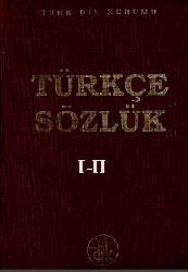 Türkce sözlük-TDK I-II