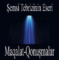 Makalat Şemsi Tebrizinin Eseri-Mehmet Nuri Gençosman