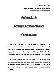 Veyselin Azerbaycandaki Yankıları Ali Şamil Hüseyinoğlu-Baki-16s