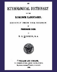 Etymological Dictionary of Romance langueges