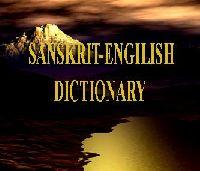 Sanskrit(Latince)-Engilish Dictionary