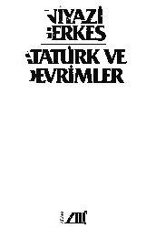 Atatürk Ve Devrimler-Niyazi Berkes-1982-224s