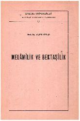 Melamilik Ve Bektaşilik-Cavit Sunar-1975-197s