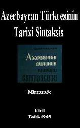 Azerbaycan Türkcesinin Tarixi Sintaksis