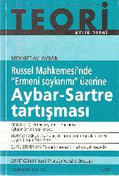 Teori-Russel Mahkemesinde Ermeni Soyqırımı Üzerine Aybar-Jean Paul Sartre Dartışması-Mehmed Ali Aybar-2008-82s