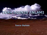 Türk Adinin Anlami