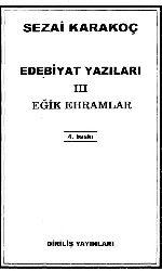 Edebiyat Yazıları III Eğik Ehramlar-Sezai Qaraqoç-2011-81s