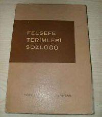 Felsefe terimleri sözlüğü- bedie akarsu - ankara-1975