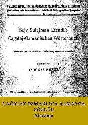 Çağatay-Osmanlica- Almanca Sözlük-(Abushqa)