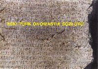 eski Türk Onomastik Sözlügü - ebül Fezl Amanoğlu Quliyev - Baki-1999 - Latin -123s
