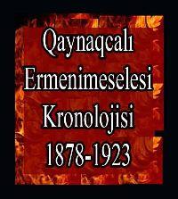 Kaynakçalı Ermeni Meselesi Kronolojisi 1878-1923