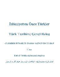 İslamiyetden Önce Türkler-Türk Tarixine Genel Baxış-Eski Türk Devletlerinin Sırayla Adları