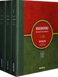 Muqaddime-I-II-III-ibni Xaldun-Chev-Zakir Kadiri Urqan-1996-97-2000s