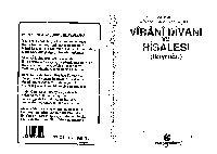 Virani Divanı Ve Risalesi-Buyruğu-Adil Ali Atalay Vaktidolu-1998-177s