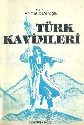 TÜRK QAVIMLERi-Ahmed Caferoğlu-Istanbul-1988