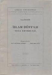 Islam Dünyası Qısa Kronolojisi-Jean Sauvaget-Çev-Suut Kemal Yetgin-Faiq Reşid Unat-1963-142s