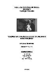Geçmişden Günümüze Cocuq Oyunlarının Araşdırılması-Beril Şirin-Duyqu Şimşekli-Elif Yılmaz-Ezgi Nermin Alaş-2006-34s