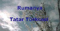 rumanya-tatar türkcesi