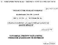 Ortaq Türk Atalarsözü-14+2-seyahatnameden bir atasozu-robert dankoff-semih tezcan-14s+3-Toplumsal Cinsiyet Bağlamında Türkcede Atasözleri Ve Deyimler-Bülend özxan-15s+4-cinsiyet ayrımlı atasözlerinde qadın ve erkek kimliği-Salim Küçük -13s