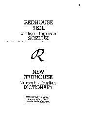 Redhouse Sözlüğü-Ingilizce-Türkce-1968-1329s