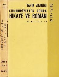 Cumhuriyetden Sonra Hikaye ve Roman-1919-1930-Antoloji-1-Tahir Alanqu-1968-313s