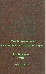 Muasir Azerbaycan Edebi Dilinin Omonimler Luğati