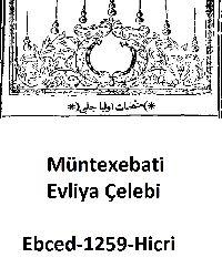 Müntexebati Evliya Çelebi-Ebced-1259h-146s