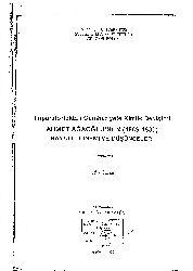 Ahmed Aghaoghlunun-1859-1939-Hayati Donemi Dushunceleri-Ufuq Ozcan-1996-172s