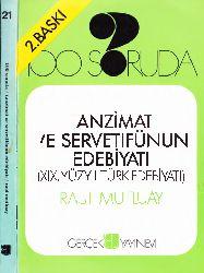 100.Soruda Tanzimat Ve Servetifünun Edebiyatı-XIX. YY.Türk Edebiyatı Rauf Mutluay-1972-253s