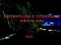 Dictionnaire D' Etymologie Firanscaise