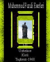 Muhemmed Fuzuli Eserleri I-II
