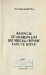 Kerkuk Türkmenleri Bilmecelerinde Yapı Ve Qonu -Murtaza Asafoğlu 2010 184
