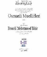 Osmanli Muellifleri I-II-III-Ebced