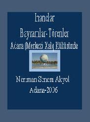 Adana (merkez) Xalq Kültüründe Xalq İnanCları Bayramlar Ve Törenler