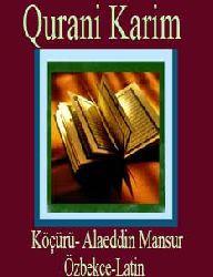 QURAN-Qurani Karim-Köçürü-Özbekce-Latin