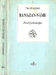 Orucluq-Ramazanname-Amil Çeleboğlu-Istanbul-1995-347s